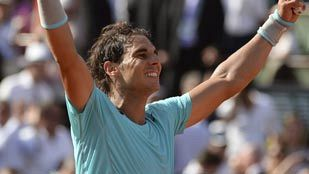 Nadal alcanza su novena final de Roland Garros