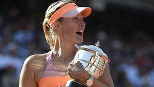 Segundo Roland Garros para Sharapova