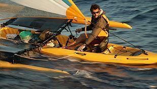 Quico Taronjí navegando