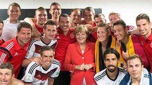 Angela Merkel, la jugadora número 12 de Alemania