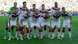 Así jugó Alemania la final del Mundial 2014