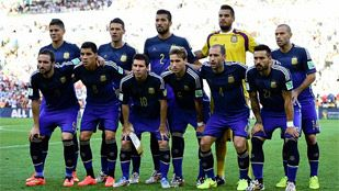 El juego de Argentina en la final, uno a uno