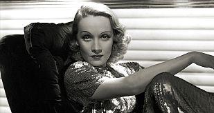 Marlene Dietrich fotografiada por Hurrell en 1937