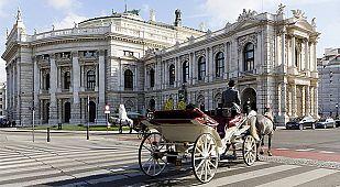 En la imagen, el Burgtheater de Viena (Teatro Nacional de Austria).