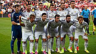 Los once jugadores con los que Ancelotti comenzó la final de la Supercopa de Europa.