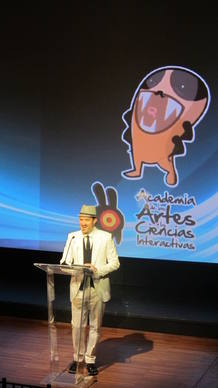 &Aacute;lex O'Dogherty, presentador de la gala