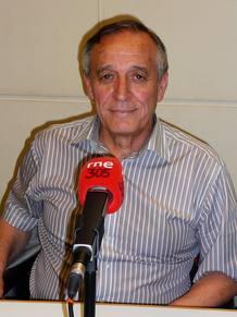 Marcos Cerrada, investigador del CIEMAT, a su paso por 'A hombros de gigantes'