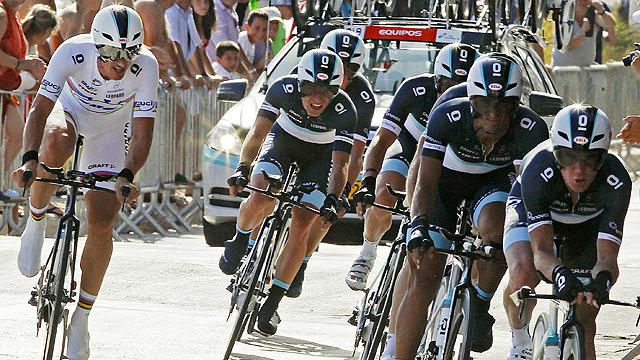 Vuelta a España. Etapa 1: Benidorm - Benidorm - 20/08/11. Primera parte