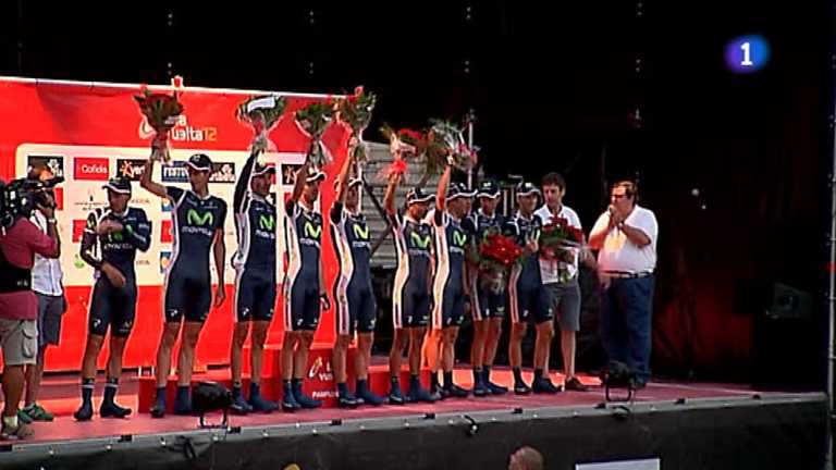 Vuelta ciclista a España 2012 - 1ª etapa: Pamplona - Pamplona