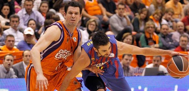 Imagen del Valencia Basket - Barcelona Regal de la primera vuelta