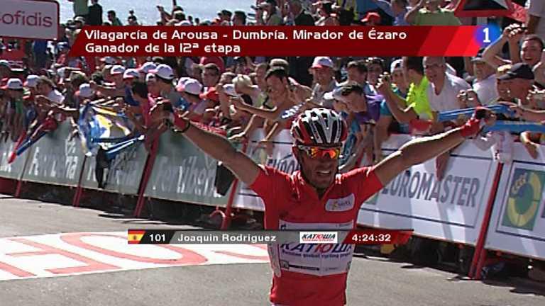 Vuelta ciclista a España 2012 - 12ª etapa: Vilagarcía de Arousa-Dumbia. Mirador de Ezaro