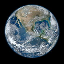 'Blue Marble 2012', as&iacute; es la Tierra vista en alta resoluci&oacute;n por un sat&eacute;lite de la NASA