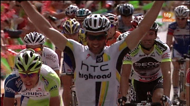 Vuelta a España. Etapa 13: Sarria - Ponferrada - 02/09/11. Segunda parte