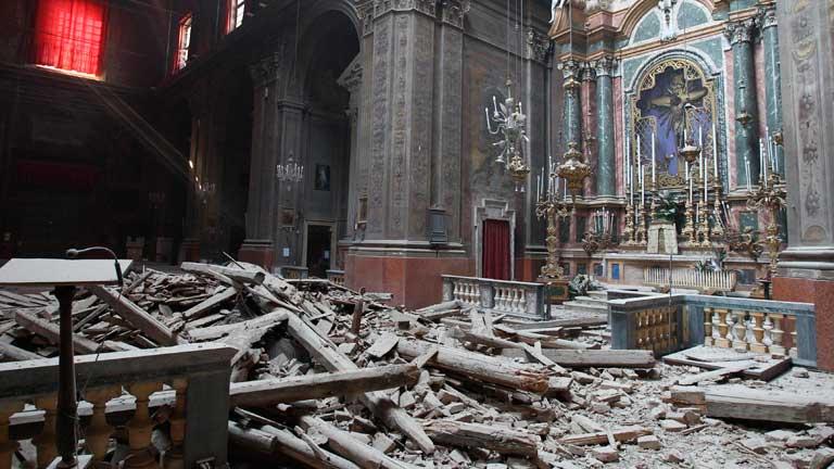 Sube la gasolina para reconstruir los daños del terremoto en Italia