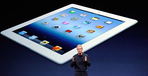 Tim Cook presenta el nuevo iPad que saldrá a la venta el 16 de marzo
