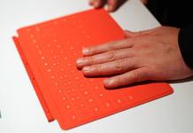 El teclado integrado en la tapa protectora de la pantalla es una de las novedades de Surface