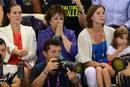 La madre de Michael Phelps, Debbie, contiene la respiración en el gran día de su hijo: el que decía definitivamente adiós a la natación de alta competición.