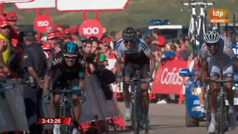 Vuelta ciclista a España 2013 - 16ª etapa: Graus - Sallent de Gállego. Aramón Formigal