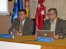 Guillermo Cisneros y Juan Quemada