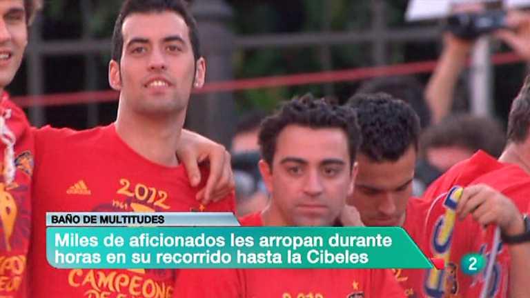 La 2 Noticias - 02/07/12