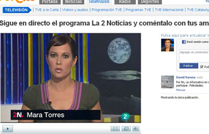 Ver vídeo  'La 2 Noticias, en RTVE.es y Facebook'