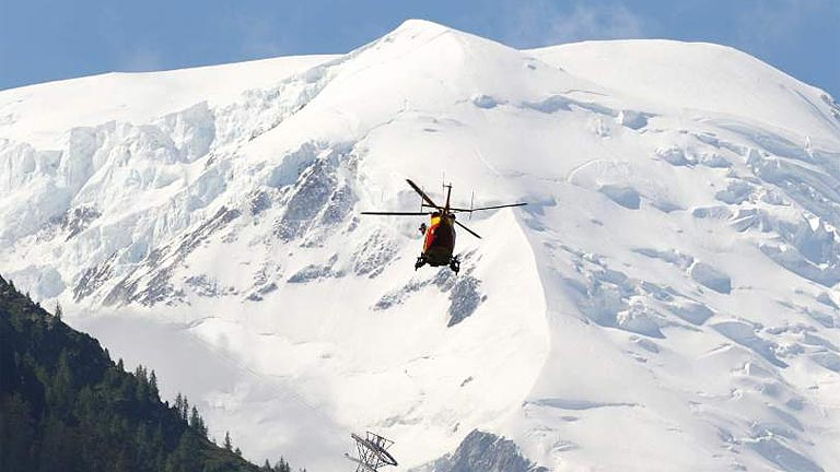 Más de 2.000 montañeros tuvieron que ser rescatados en 2013
