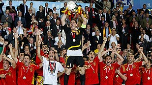 2008: Campeones de Europa en Viena