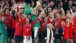 2010: Campeones del mundo
