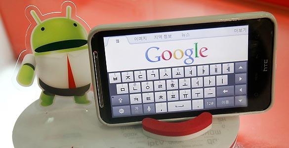 El crecimiento de Android en Europa ha sido frenético durante el último año
