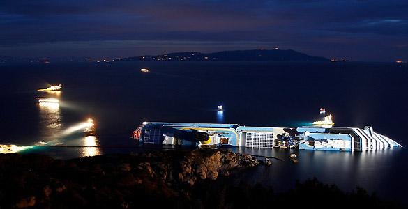 Varios factores, como la inexactitud del GPS, pudieron ser clave para la catástrofe del Costa Concordia