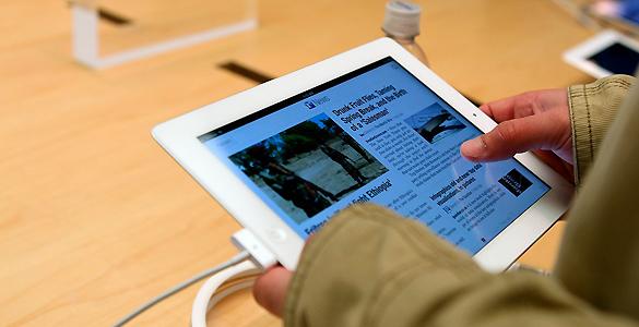La nitidez de la pantalla del nuevo iPad es una de sus principales mejoras
