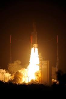 El ATV ha puesto rumbo con éxito a la Estación Espacial Internacional