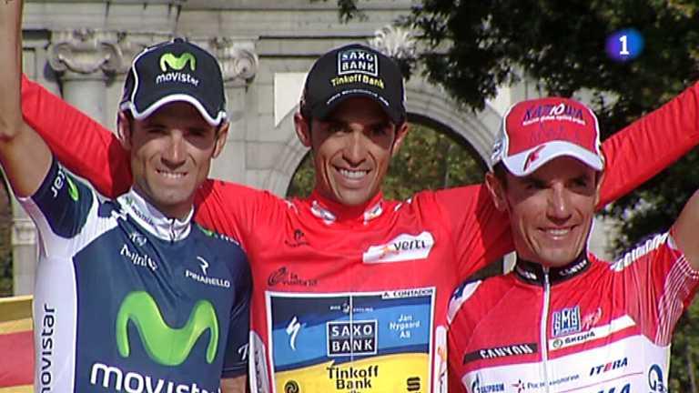 Vuelta ciclista a España 2012 - 21ª etapa: Cercedilla-Madrid