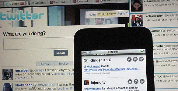 Vista de varias versiones de Twitter en distintos dispositivos
