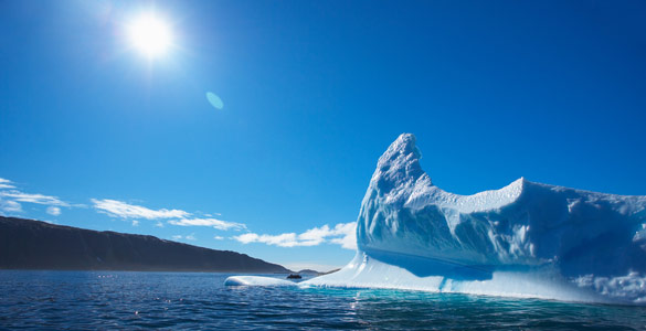 Las altas temperaturas están provocando que la capa de hielo ártico se reduzca hasta mínimas históricas