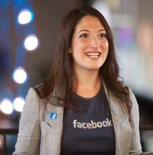 Randi Zuckerberg, directora de márketing de Facebook y hermana del fundador de la exitosa red social