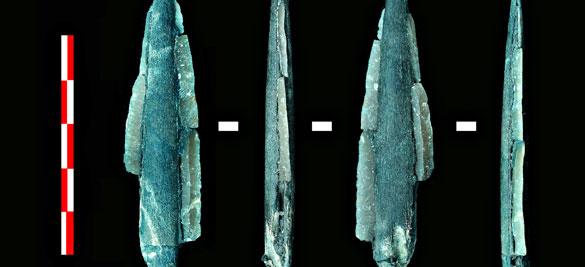 Herramientas encontradas en el yacimiento de la cuenca del río Dubná, cerca de Moscú.