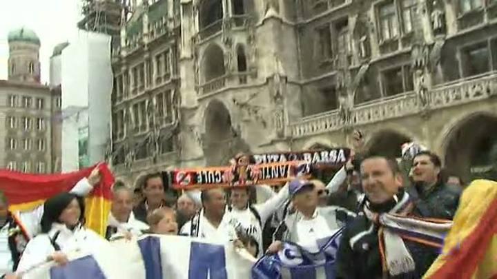 3.000 madridistas en el 'infierno' de Múnich