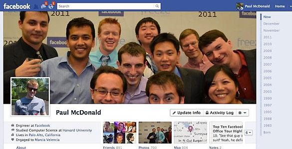 Una gran imagen central encabeza el nuevo perfil de cada usuario