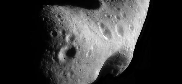 El asteroide Eros captado por los telescopios de la NASA