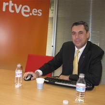 Enrique Dans durante un encuentro digital en RTVE.es