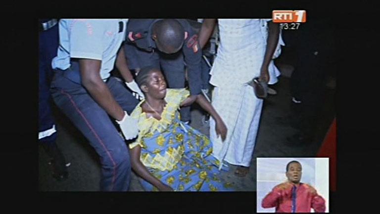 Al menos 60 muertos y más de 200 heridos en una avalancha en fiesta de Nochevieja en Costa de Marfil