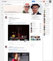 El nuevo perfil de Google+ es parecido al 'Timeline' de Facebook