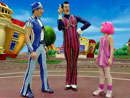 Imagen del  vídeo de Lazy Town en inglés titulado 8 THE GREAT CRYSTAL CAPER