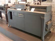 Una de las primeras máquinas tabuladoras de IBM