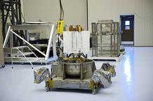 La fuente de energía de Curiosity (NASA/Kim Shiflett)