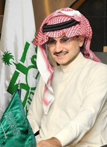 El príncipe saudí Alwaleed Bin Talal Bin Abdulaziz Alsaud