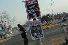 95 cumpleaños de Mandela