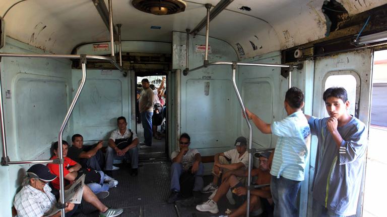 No mejoran las condiciones de transporte para los argentinos