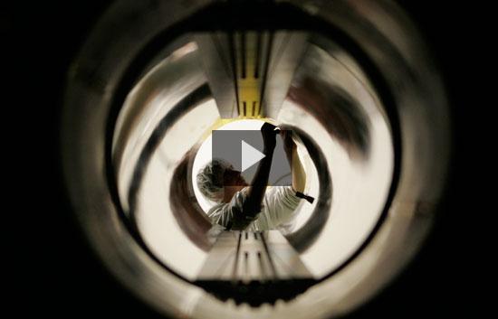 El acelerador del partículas del CERN